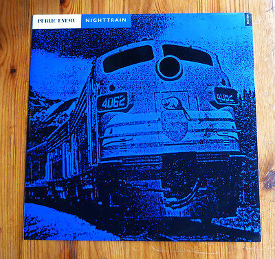 "PUBLIC ENEMY ~ Nighttrain ~ 12"" Single PROMO"