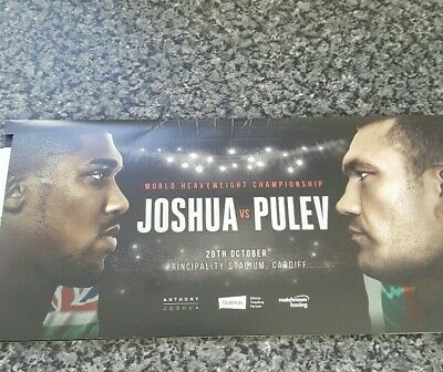 Joshua v Pulev tickets at principality stadium Cardiff Oct 28th