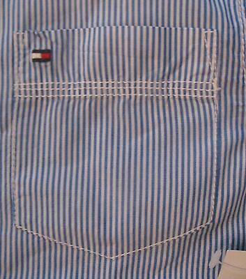 NWT $37.50 Boy's Tommy Hilfiger Striped Shirt Sizes 2T-5