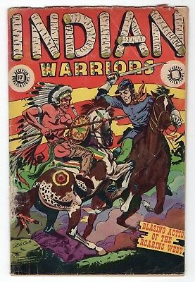 Indian Warriors #8 1951 Accepted Publications Star Golden Age Western Comics