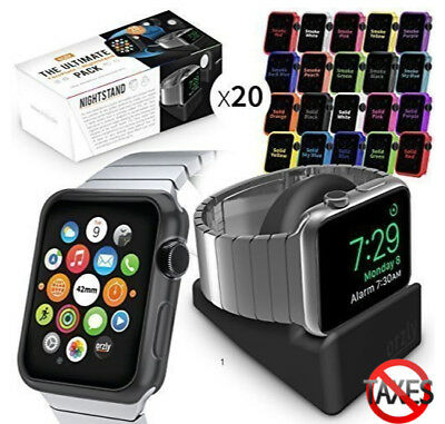 Apple Watch Case Cover 42mm iWatch Protective Shell Bumper Protector Set of 20