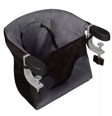 Mountain Buggy Pod v2 Portable Clip on Highchair (Flint) FREE POST