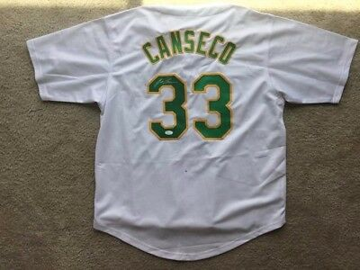 MLB Oakland Athletics Jose Canseco signed Jersey JSA