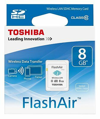 Sd Card 8Gb Wifi Toshiba