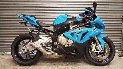 2012 Bmw S1000Rr - 193 Bhp - Full Bmw History - Iconic Blue - Slick - Pro Race