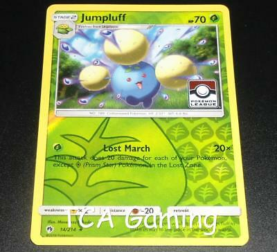 Jumpluff 14/214 SM Lost Thunder REVERSE HOLO League Promo Pokemon Card NEAR MINT