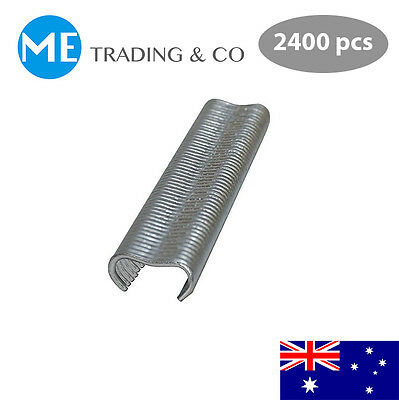 Hog Ring Staple M Clips Chicken Mesh Cage Wire Fencing 2400 pcs