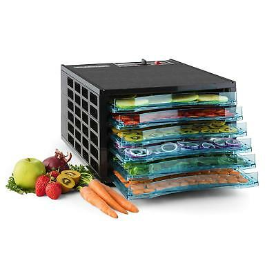 Bpa Free Food Dehydrator Fruit Preserver Meat Jerky Dryer 6 Tray Dishwasher Safe