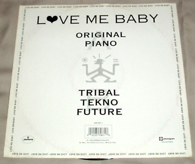 "12"" Mimmo Mix ""Love Me Baby"" Sello: (Mercury 1994)"