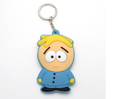 South park keychain comedy central butters action figure key chain game key ring
