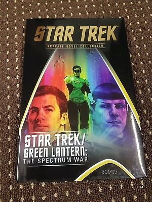Star Trek / Green Lantern spectrum war.Perfect Christmas gift or stocking filler