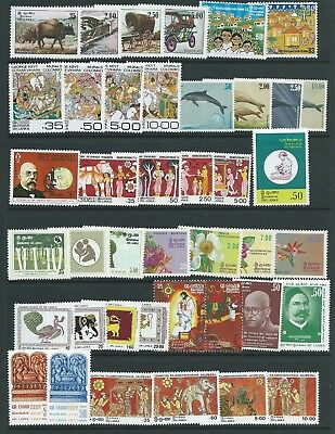 Ceylon Sri Lanka 1983 Issues Nice Group  Mnh Fresh!