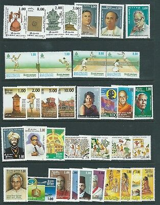 Ceylon Sri Lanka 1990-92 Issues Nice Group  Mnh Fresh!