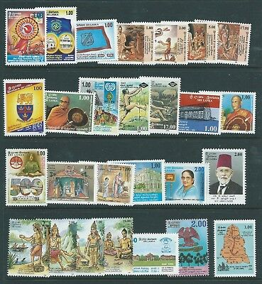 Ceylon Sri Lanka 1994-95 Issues Nice Group  Mnh Fresh!