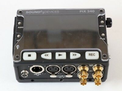 Sound Devices Pix 240 Portable Video Recorder Complete Kit