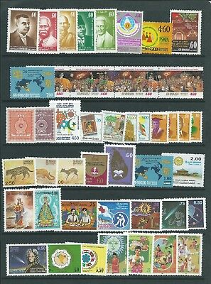 Ceylon Sri Lanka Good Lot  Issues Nice Group  Mnh Fresh!