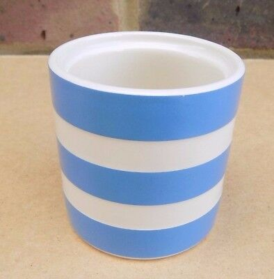 T. G. GREEN Blue & White Cornishware Pot (No Cover)