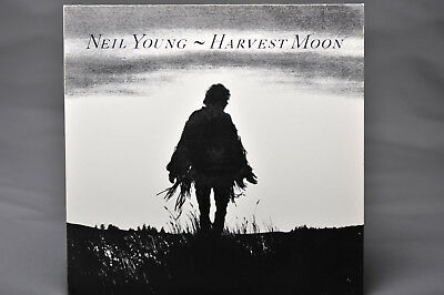 Neil Young-Harvest Moon 1992 Vinyl Album 2nd issue Made in Germany Rare