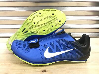 sneakers for cheap 1dfcd d60fa Nike Zoom LJ4 Track and Field Spikes Long Jump Spikes Blue SZ ( 415339-413