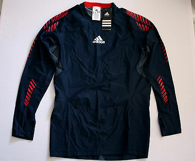 Team GB Olympics Recovery Top Great Britain Adidas ATHLETE ISSUE BNWT XS 32/34