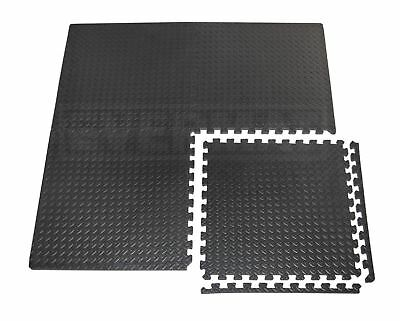 EVERMAT® 20mm Large Interlocking Gym Home Garage Anti Fatigue Floor EVA Foam Mat