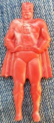 Rare 1966 Batman Suction Cup Gumball Vending Machine Toy Premium Prize RED