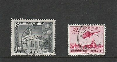 Haiti - 1953 & 1955 - 2 X Used Stamps