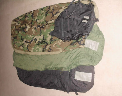 Used US ARMY ECW Military Sleeping System with GORETEX  Bivy Cover