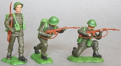 Britains 1/32 Scale Plastic Swoppets British Infantry Figures