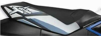Ski-Doo Rev Xp High Rise Seat Cover Blue & Black Oem# 860200184