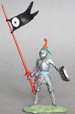 Britains 1/32 Scale Plastic Swoppets Knight With Lance Figure