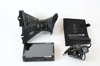 "SmallHD DP4 LCD 4.3"" monitor on camera with EVF Viewfinder - LPE6"