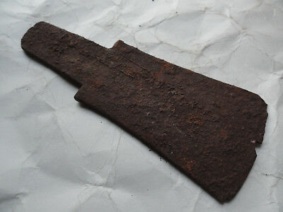 Iron Age Celtic Iron Wedge (Axe Head)