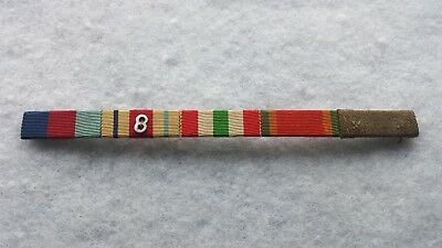 1939-45 AFRICA  8th ARMY ITALY STAR AFRICA SERVICE MEDAL MID MEDAL RIBBON BAR.
