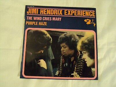 """Jimi Hendrix Experience """" Original French Ep On Barclay Label  Mint Condition"""