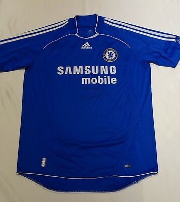 John Terry Hand Signed Chelsea Football Club Shirt with COA