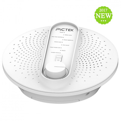 White Noise Machine for Sleep, Pictek 24 Natural Soothing Sounds Conditioner Mac