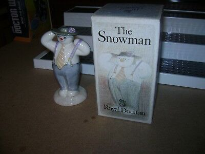 Royal Doulton The Snowman (Dressing Up) Figurine With Box