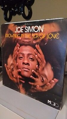 JOE SIMON - DROWNING IN THE SEA OF LOVE VINYL 1972 soul/funk collection