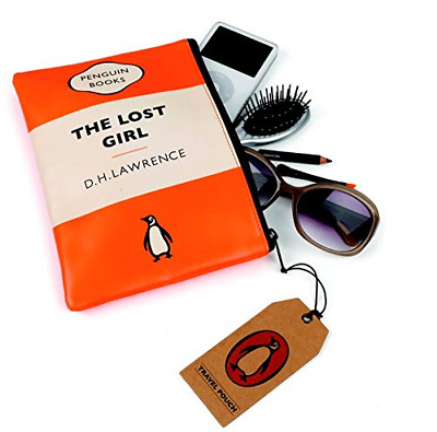The Lost Girl Orange Penguin Travel Pouch