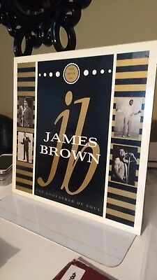 JAMES BROWN - GODFATHER OF SOUL VINYL 1987 soul/funk collection