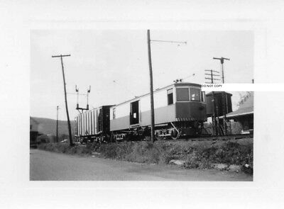 Hagerstown & Frederick RY H&FRY Photo Freight Motor at Thurmont MD