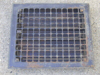 Vintage Floor Register Heat Grate/Vent - With Louvers