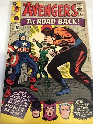 Avengers #22, Captain America leaves, Silver Age, Key Issue