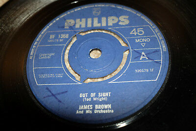 ♫ James Brown Out Of Sight R N B 7 Uk Funk Philips 1964 Listen