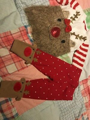 Tu Christmas Outfit 12-18 Months