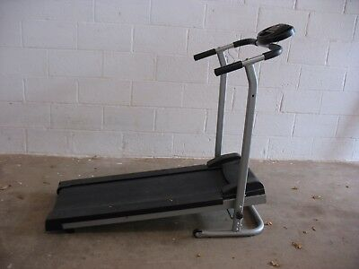 CARL LEWIS RUNNING MACHINE with digital display can help with delivery.TREADMILL