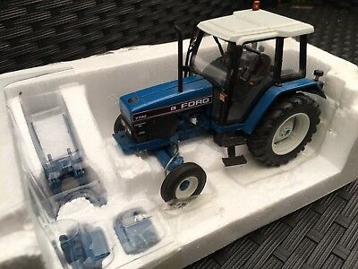 Frater Ford 7740 SL 2wd tractor White roof 1:32 scale Classic Farm model
