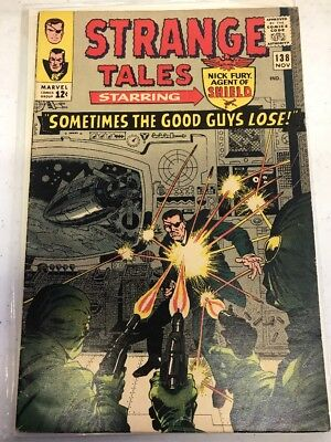 Strange Tales #138 1st app. of Eternity; Iron Man, Doctor Strange