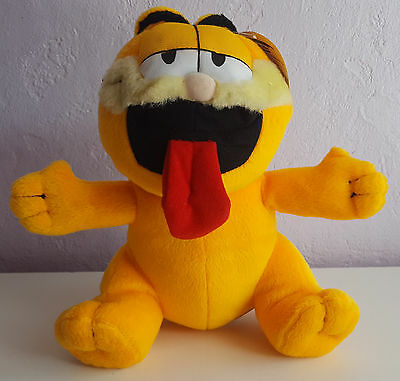 """8"""" Garfield Plush Toy With Tag, Doll, Cat, Teddy, Soft Toy."""